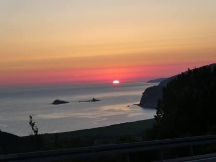 MNE sunset