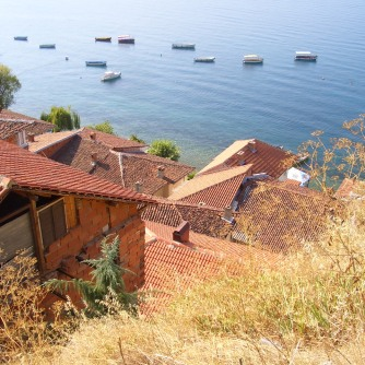 Lake Ohrid, where Jovana and Hristijan grew up