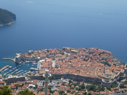 Dubrovnik: the view from the high ground