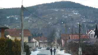 In Pale: the Bosnian Serb' wartime capital. Would you like to grow up here until you were fourteen?