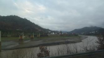 The Neretva River gorge.