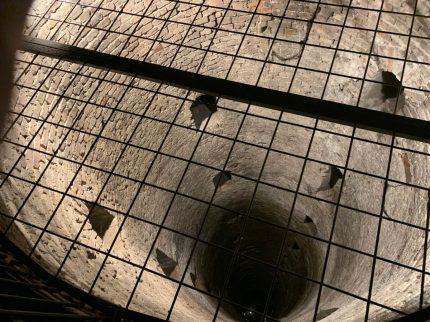 The roman well cistern, under Belgrade fortress.