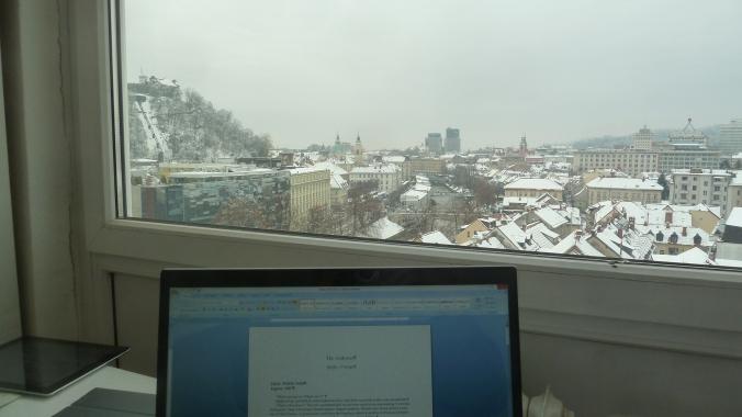 Writer in Ljubljana