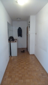 Or this entryway, because your other rooms were too dangerous to go in??