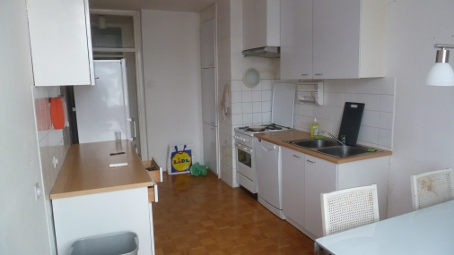 How would you and your friends like spending the better part of four years stuck in this kitchen?
